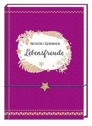 Notizbuch mit Freundschaftsband - Lebensfreude - Cover