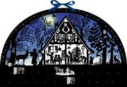 Lichterbogen Weihnachtswald