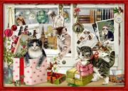 Katzen-Weihnacht