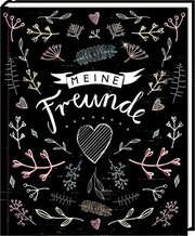 Freundebuch - Handlettering: Meine Freunde - Cover