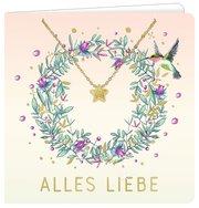 Armband mit Grußkarte - Alles Liebe - Cover