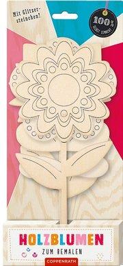 Holzblumen zum Bemalen - Cover