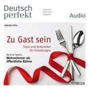 Deutsch lernen Audio - Zu Gast sein