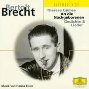 Brecht: An die Nachgeborenen