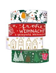 Washi Tapes Weihnachtsgrüße