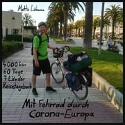 Mit Fahrrad durch Corona-Europa