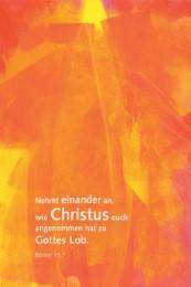 Leinwand Künstleredition 'Jahreslosung 2015' - Cover