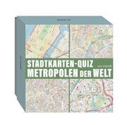 Stadtkarten-Quiz Metropolen der Welt