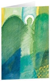 Engel der Hoffnung - Kunst-Faltkarten ohne Text (5 Stück)