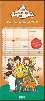 Schule der magischen Tiere - Familienkalender 2022