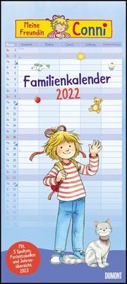 Meine Freundin Conni Familienkalender 2022