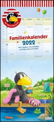 Der kleine Rabe Socke Familienkalender 2022