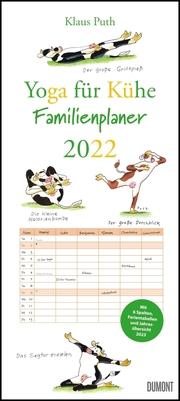 Yoga für Kühe Familienplaner 2022