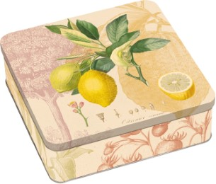 Kew Gardens Geschenkdose - Motiv: Zitrone - Cover