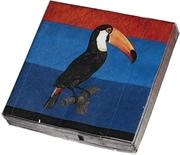 James Cook Papierservietten - Tukan - Cover