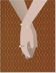 Die Macht der Liebe Großes Notizheft (A5) Motiv Hand in Hand