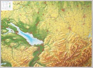Relief Allgäu Bodensee