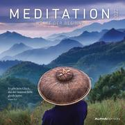 Meditation 2022 - Broschürenkalender 30x30 cm (30x60 geöffnet) - Kalender mit Platz für Notizen - inkl. Poster - mit Sprüchen - Bildkalender - Wandplaner