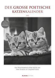 Der große poetische Katzenkalender 2022