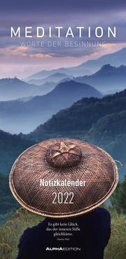 Meditation Notizkalender 2022