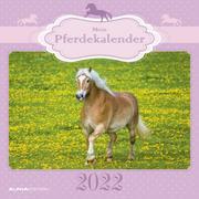 Mein Pferdekalender 2022 - Broschürenkalender 30x30 cm (30x60 geöffnet) - Kalender mit Platz für Notizen - Bildkalender - Wandplaner - Alpha Edition