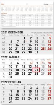 3-Monatskalender klein 2022