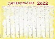 Jahresplaner Cartoon XL 2022