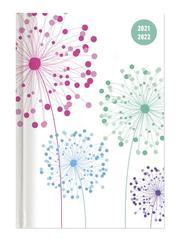 Collegetimer Blowballs 2021/2022 - Schüler-Kalender A5 (15x21 cm) - Pusteblume - Day By Day - 352 Seiten - Terminplaner - Notizbuch - Alpha Edition