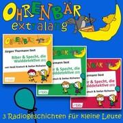 Radiogeschichten von Biber & Specht, den Walddetektiven, Teil 1-3 - Ohrenbär extralang - Geschichten vom radioBERLIN-OHRENBÄR (Ungekürzt)