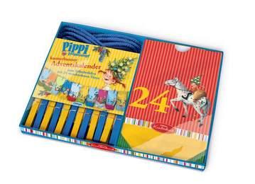 Pippi Langstrumpf: Kunterbunter Adventskalender