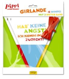Girlande 'Pippi Langstrumpf'