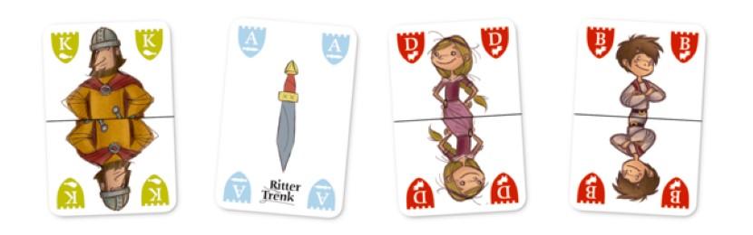 Ritter Trenk Ritter-Kartenspiel