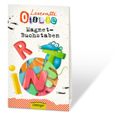 Leseratte Otilie Magnet-Buchstaben