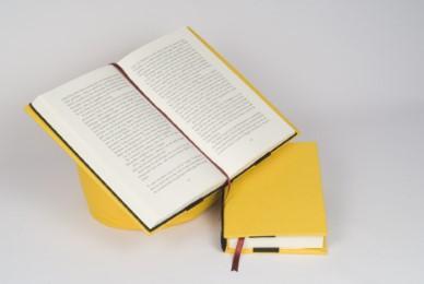 Lesekissen Leselotte Gelb