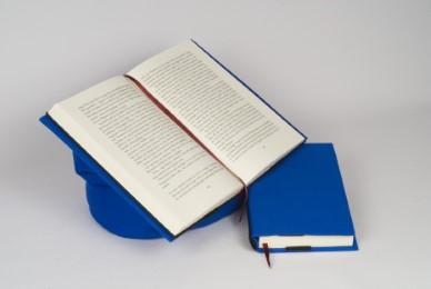 Lesekissen Leselotte Blau