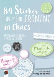 84 Sticker für mehr Ordnung im Chaos 'Live-love-teach'