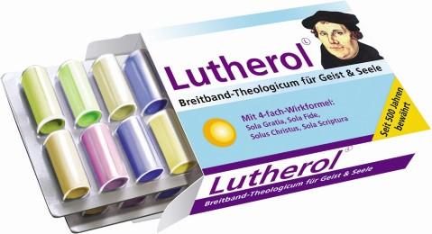 Box mit Zitaten 'Lutherol'