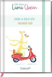 Lama Queen - Taschenkalender 2020 - Cover