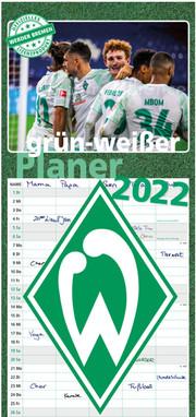 grün-weißer Planer - SV Werder Bremen 2022