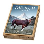 Die Kuh/The Cow - Kunstkartenbox