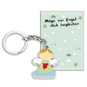 Schlüsselanhänger 'Möge ein Engel dich begleiten'