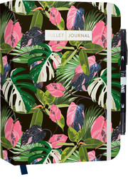 Bullet Journal 'Jungle Pink' mit original Tombow TwinTone Dual-Tip Marker 33 black