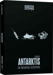 Krimi-Spielebox: Detective Stories iDventure -Antarktis Fatale (Fall 2)