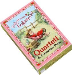 Erdbeerinchen Erdbeerfee - Quartett & Schwarzer Peter