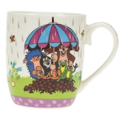 Der kleine Maulwurf - Kindertasse 'Regenschirm'