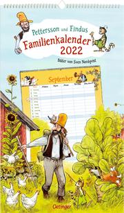 Pettersson und Findus Familienkalender 2022 - Cover