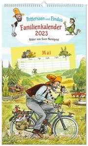 Pettersson und Findus Familienkalender 2023