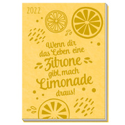Taschenkalender A7 Zitronen 2022