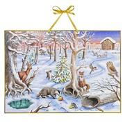 Adventskalender 'Unsere Tiere im Winterwald'