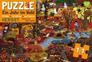 Ein Jahr im Wald - Herbst - Puzzle